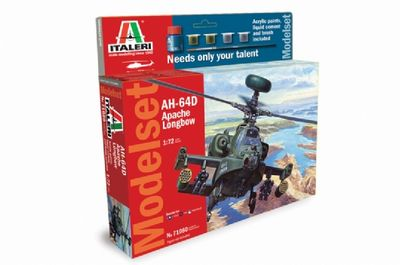 430-510071080 1:72 IT AH-64D Apache Longbow