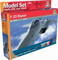 430-510071207 1:72 IT F-22 Raptor Model Set