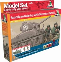 430-510073003 1:72 IT M4 Sherman&Fig.U.S.In