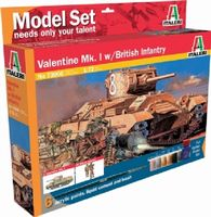 430-510073006 1:72 IT Valentine Mk.1 & Fig.